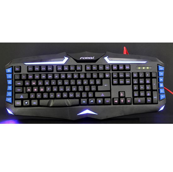 FV 98 Multimedia Backlight Gaming Keyboard