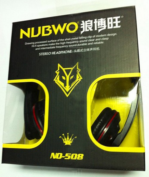 NUBWO Stereo PC Headphone in stock Model No 508