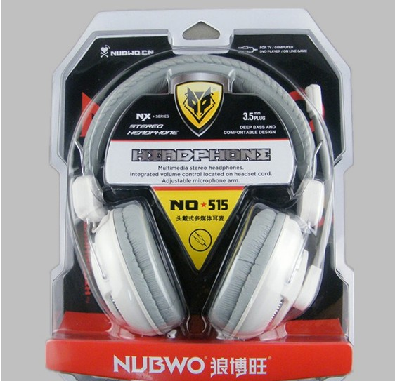 NUBWO Stereo computer Headphone in stock Model No 515