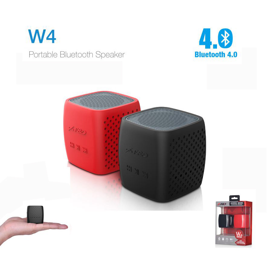 W4 f d portable bluetooth 4 0 speaker for F d portable bluetooth speakers